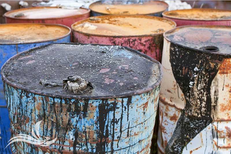 smaltimento olio esausto