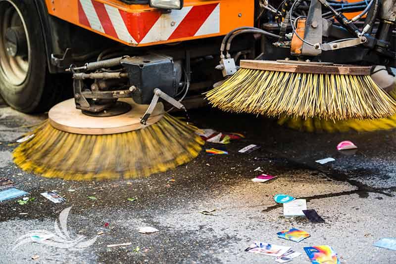 smaltimento terre di spazzamento stradale
