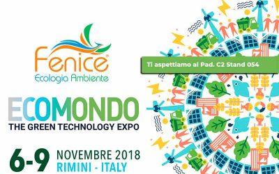 Ecomondo 2018 dal 6 al 9 Novembre: Fenice Srl tra gli espositori