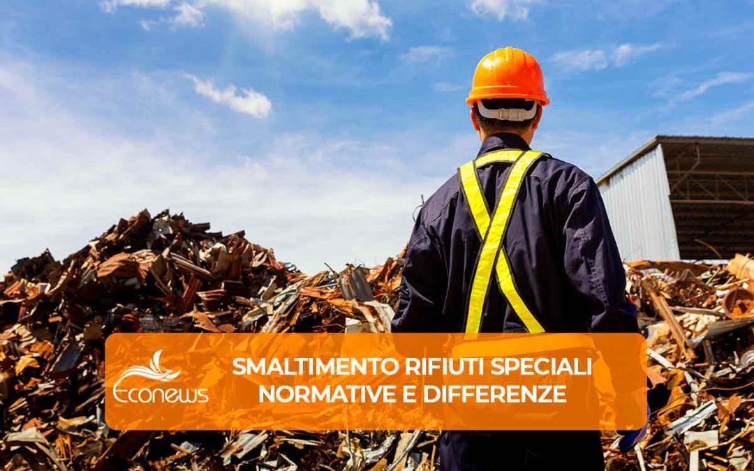 Smaltimento rifiuti speciali: normative e differenze